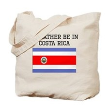 Id Rather Be In Costa Rica Tote Bag