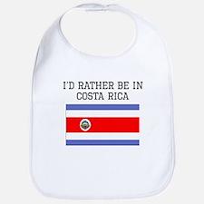 Id Rather Be In Costa Rica Bib