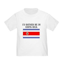 Id Rather Be In Costa Rica T-Shirt