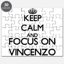 Keep Calm and Focus on Vincenzo Puzzle