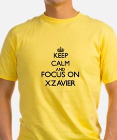Keep Calm and Focus on Xzavier T-Shirt