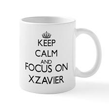 Keep Calm and Focus on Xzavier Mugs