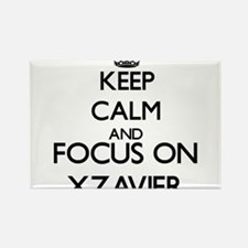 Keep Calm and Focus on Xzavier Magnets