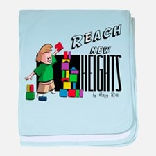 Reach new Heights baby blanket