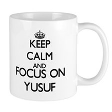Keep Calm and Focus on Yusuf Mugs