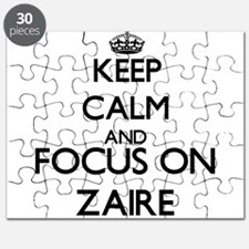 Keep Calm and Focus on Zaire Puzzle