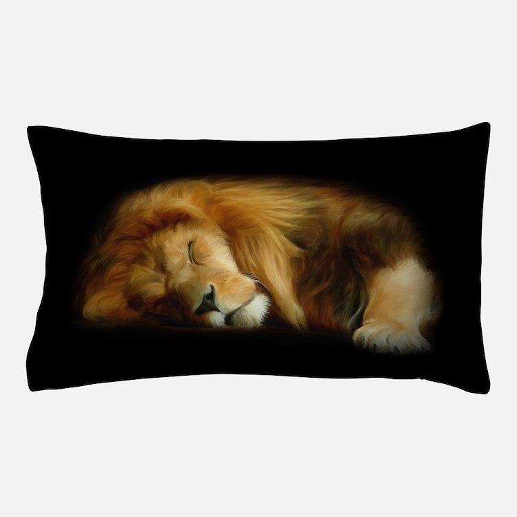 Sleeping Lion Pillow Case