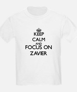 Keep Calm and Focus on Zavier T-Shirt