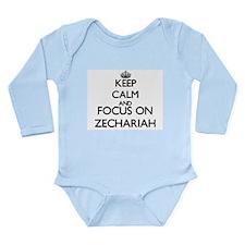Keep Calm and Focus on Zechariah Body Suit