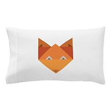 Origami Fox Pillow Case