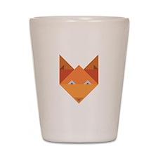 Origami Fox Shot Glass
