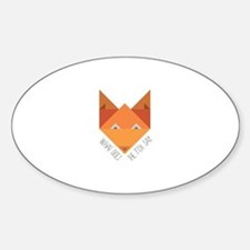 Fox Say Decal