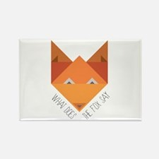 Fox Say Magnets