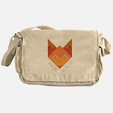 Fox Say Messenger Bag