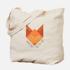 Fox Say Tote Bag