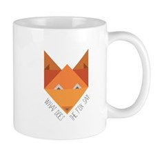 Fox Say Mugs