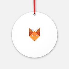Sly Fox Ornament (Round)