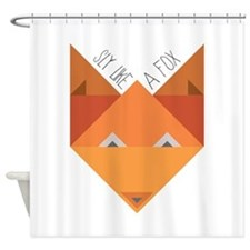 Sly Fox Shower Curtain