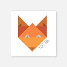 Foxy Thing Sticker