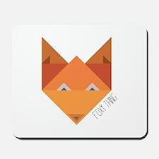 Foxy Thing Mousepad