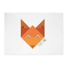 Foxy Thing 5'x7'Area Rug