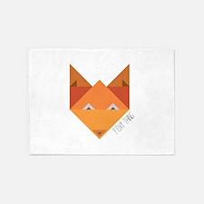 Foxy Thing 5'x7'Area Rug