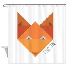 Foxy Thing Shower Curtain