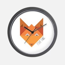 Foxy Thing Wall Clock