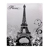Eiffel tower Fleece Blankets