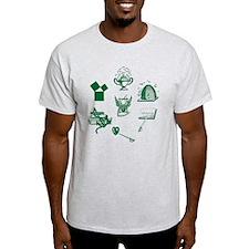 Master Mason Emblems No. 1 T-Shirt