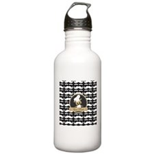 Whimsical Owl Chef Mus Water Bottle