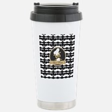 Whimsical Owl Chef Musc Stainless Steel Travel Mug
