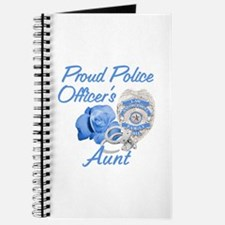 Blue Rose Police Aunt Journal