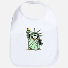 Statue of Liberty Penguin Bib