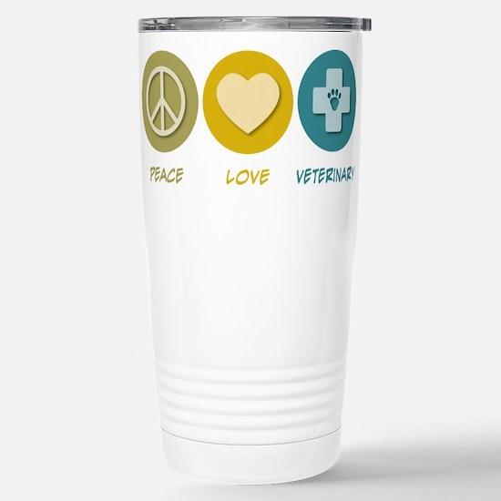 Peace Love Veterinary Mugs