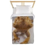 Bearded dragon Luxe Twin Duvet Cover