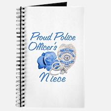 Blue Rose Police Niece Journal