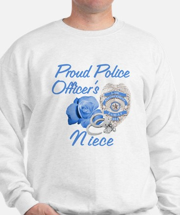Blue Rose Police Niece Sweatshirt