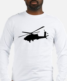 Unique Helicopters Long Sleeve T-Shirt