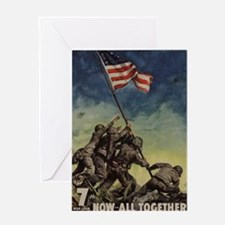 iwo jima Greeting Cards
