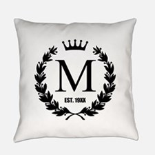 Custom Initial Logo Monogrammed Master Pillow