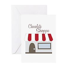 Chocolate Shoppe Greeting Cards