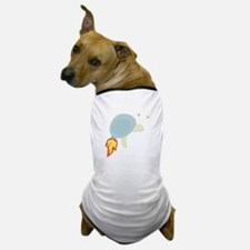Flame Snail Dog T-Shirt