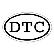 DTC Oval Oval Decal