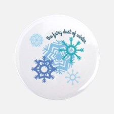 """The Fairy Dust Of Winter 3.5"""" Button"""