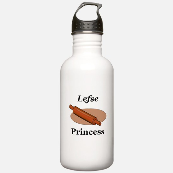 Lefse Princess Water Bottle