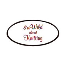 Wild About Knitting Patches