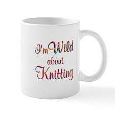 Wild About Knitting Mug