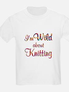 Wild About Knitting T-Shirt