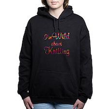 Wild About Knitting Women's Hooded Sweatshirt